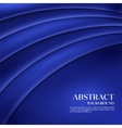 Blue Template Abstract background with vector image vector image