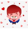boy love vector image vector image