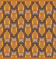 cartoon owl bird cute character seamless pattern vector image vector image