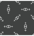 Gender signs pattern vector image vector image