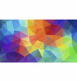geometric triangle wallpaper vector image vector image
