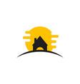 home logo template design vector image