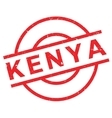 Kenya rubber stamp vector image