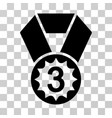 third place icon vector image vector image