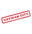 Vatican City Rubber Stamp vector image vector image