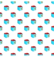 Fryer pattern cartoon style vector image vector image