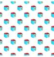 Fryer pattern cartoon style vector image vector image