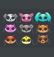 funny animal masks