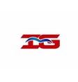 iG letter logo vector image vector image