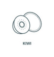 kiwi line icon linear concept outline vector image vector image