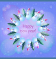 new year eves snowmans vector image vector image