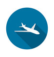 plane icon airplane vector image
