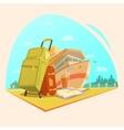 Voyage Cartoon Concept vector image vector image