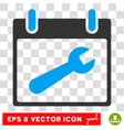 Wrench Tool Calendar Day Eps Icon vector image vector image