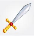 a sword vector image vector image
