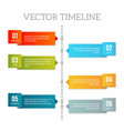 abstract presentation template vector image vector image