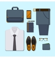 Business man casual outfit vector image