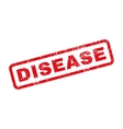 Disease Rubber Stamp vector image vector image