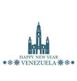 Greeting Card Venezuela vector image
