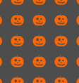 halloween pumpkin pattern background vector image vector image