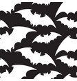 pattern with bats vector image