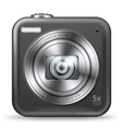 Point and shoot camera vector image vector image
