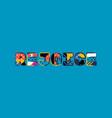 rejoice concept word art vector image vector image