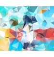 Abstract geometric background new vector image