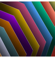 colorful paper vector image vector image