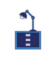 desk lamp icon image vector image vector image