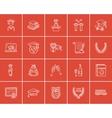 Education sketch icon set vector image vector image