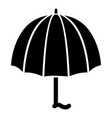 fashion umbrella icon simple style vector image vector image
