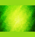 nature abstract green background vector image vector image