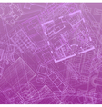 blueprint backdrop violet vector image