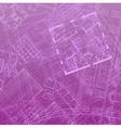 blueprint backdrop violet vector image vector image