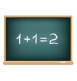 board mathematics vector image