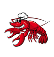 crayfish or lobster vector image vector image