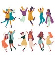 diverse women having fun together multi ethnic vector image vector image