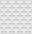 geometric white seamless pattern background vector image vector image