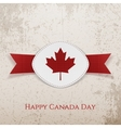 Happy Canada Day Holiday Card Template vector image vector image