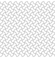 Seamless pattern diagonal semicircle vector image