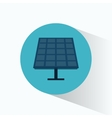solar energy panel source alternative vector image