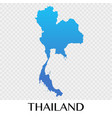 thailand in asia continent design vector image vector image