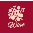 Wine shop sign vector image