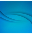 Blue Abstract background with curves lines vector image vector image