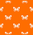 butterfly pattern seamless vector image vector image
