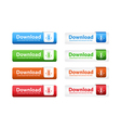 Download Web Buttons vector image