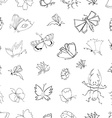 hand drawn ink vector image vector image
