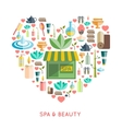 Spa And Beauty Concept vector image vector image