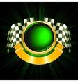 Sports Emblem vector image vector image